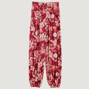Zara Pants - ZARA Floral Printer Trouser